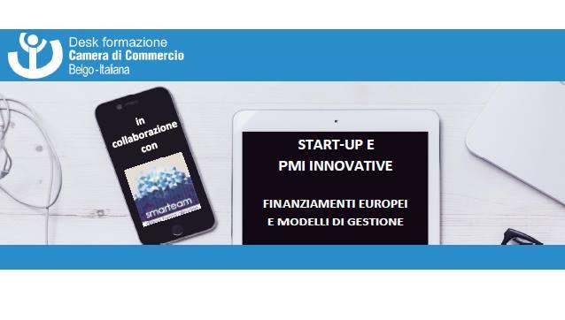 Corso Startup e PMI Innovative – Bruxelles
